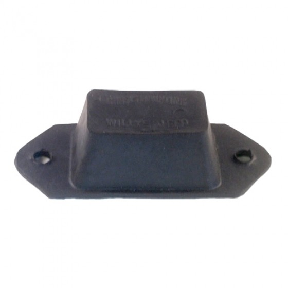 Rubber Axle to Frame Bumper Snubber, 41-71 Willys Jeep