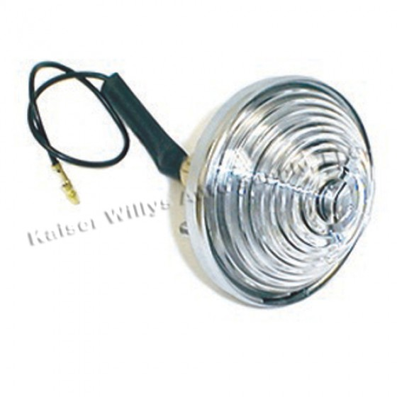 Back Up Lamp Assembly, 46-75 Willys Jeep CJ