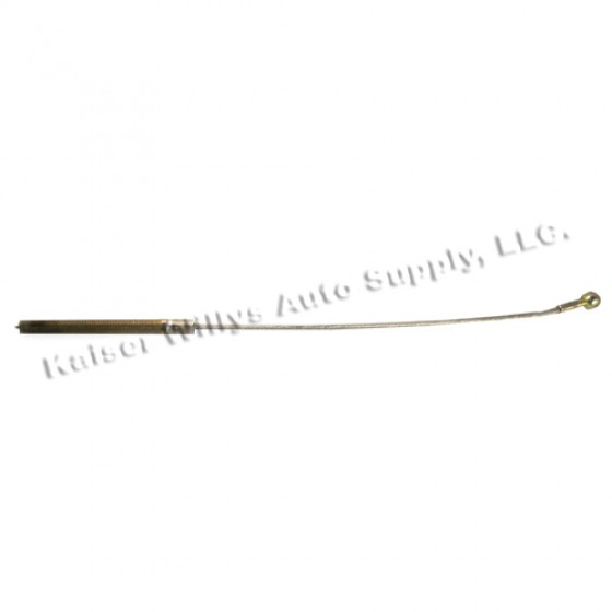 Clutch Release Cable, 66-73 Willys CJ-5, Jeepster with V6-225 engine
