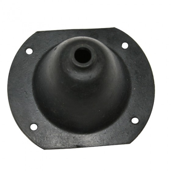 Transmission Rubber Shifter Boot, 72-79 CJ with Warner T15 3 Speed Transmission