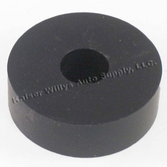 Rubber Body Mount Pad 1/2 Inch, 46-64 Willys Truck