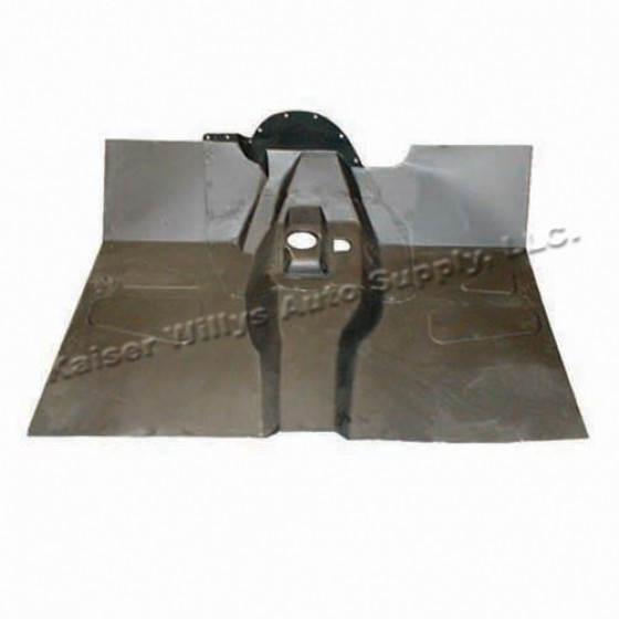 Complete Front Floor Pan with Welded Braces, 55-69 CJ-5