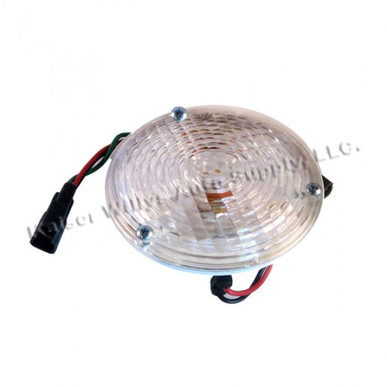 Park & Turn Signal Lamp Assembly, 67-72 Jeepster