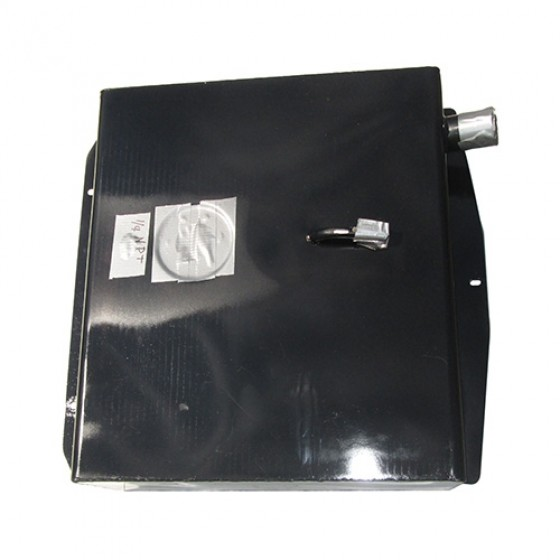 Steel Fuel (gas) Tank, 67-71 Jeepster with side mounted filler neck