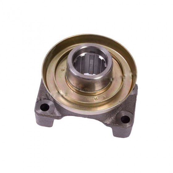 Transfer Case Rear 10 Spline Output Yoke, 76-79 CJ-7 with Borg-Warner Quadra Trac Transfer Case