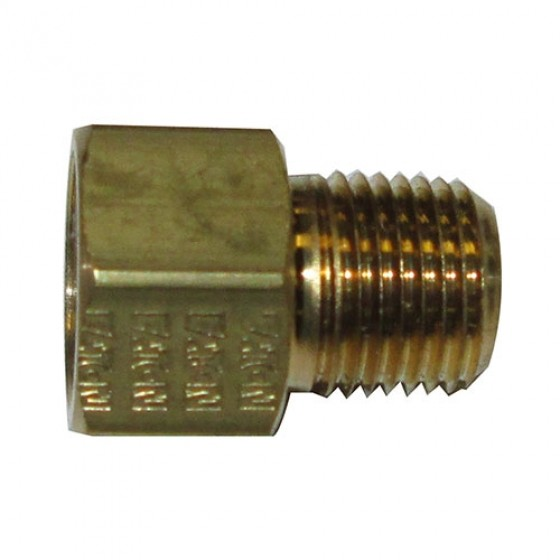 Oil Canister Inlet & Outlet Fitting, 41-71 Jeep & Willys