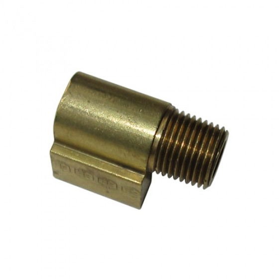 Fuel Pump Inlet & Outlet Fitting (90 degree port), 52-66 M38A1
