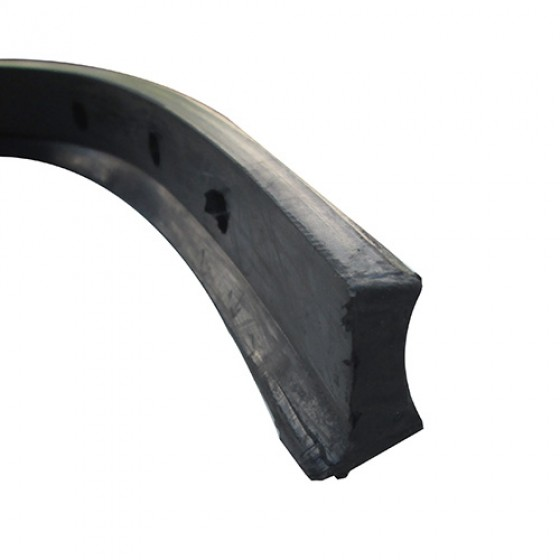 Windshield Frame to Cowl Rubber Weatherseal Fits 41-49 MB, GPW, CJ-2A