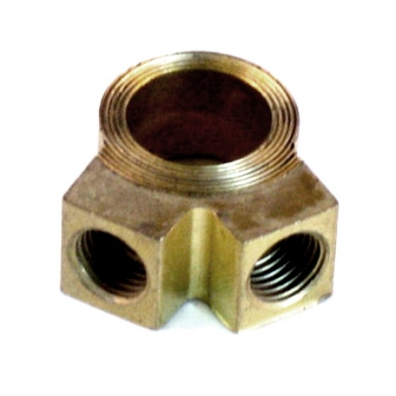 Master Cylinder Brass Outlet Fitting, 41-66 Jeep & Willys