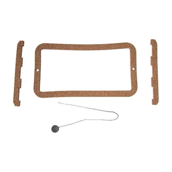Voltage Regulator Cover Cork Gasket and Lead Seal Fits 41-45 MB, GPW