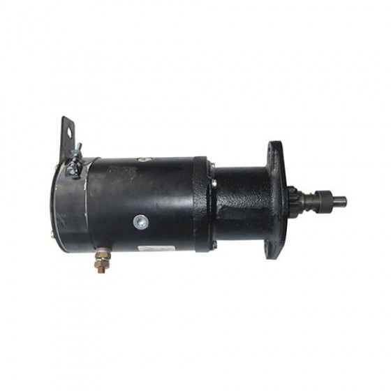 New Replacement Starter Motor (6 volt) Fits 41-49 MB, GPW, CJ-2A