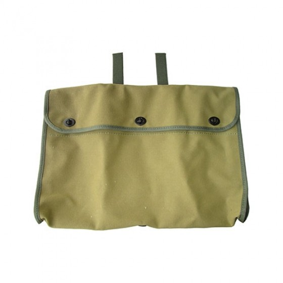 Canvas Storage Bag for Aft Side of Front Seat Frames, 41-71 Jeep & Willys