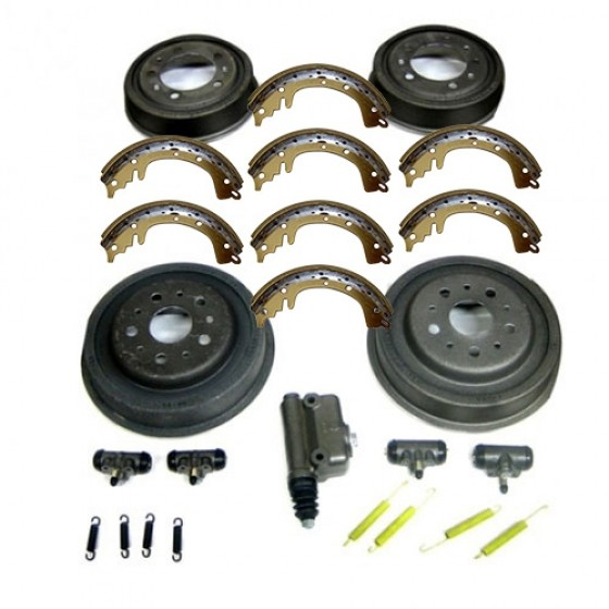 Master Brake Kit 9 Inch, 52-66 Willys CJ-3B, 5, M38A1