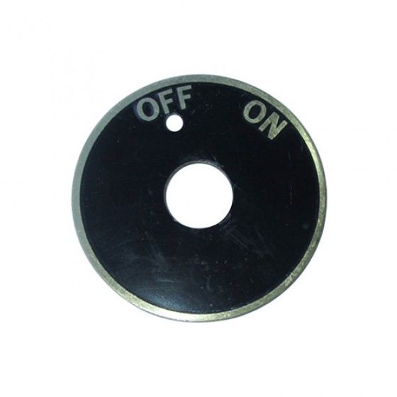 On/Off Data Plate, 50-66 M38, M38A1