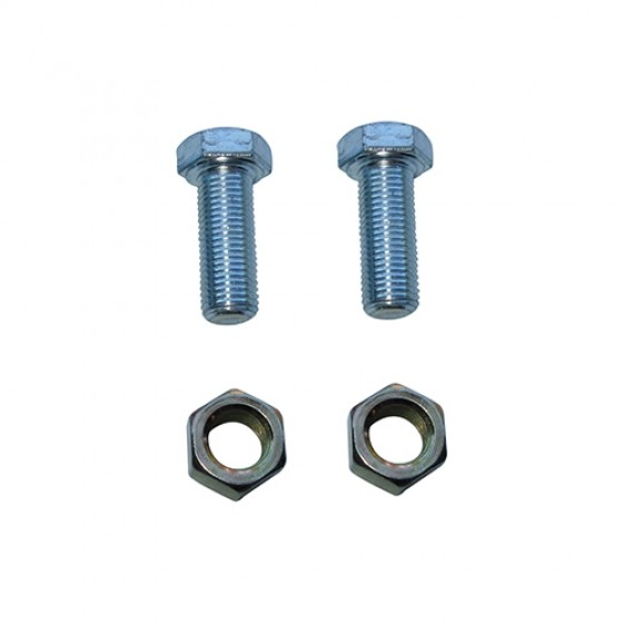 Front Axle Steering Knuckle Stop Hardware Kit, 41-66 Jeep & Willys with Dana 25