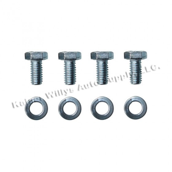 Cover toTransmission Housing Case Hardware Kit, 46-55 Jeepster, Station Wagon with T-96 Transmission