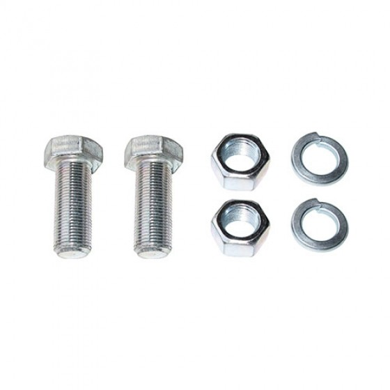 Draw Bar Plate Hardware Kit, 41-71 Jeep & Willys