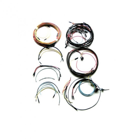Complete Wiring Harness - Made in the USA Fits 66-71 CJ-5 with V6-225 engine | Cj5 Wiring Harness Replacement |  | Kaiser Willys