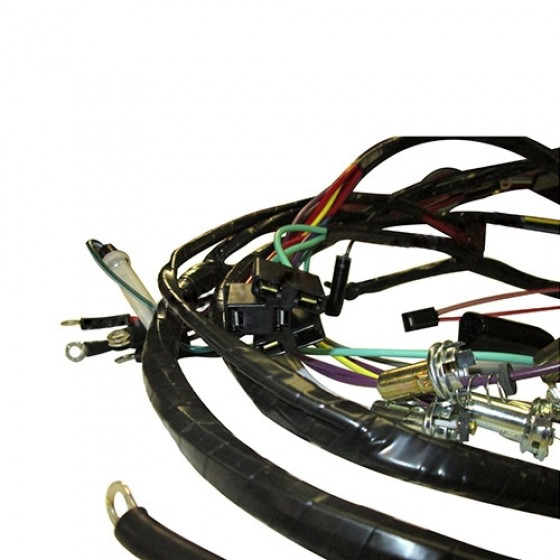 Complete Wiring Harness Made in the USA Fits 6671 Commando with