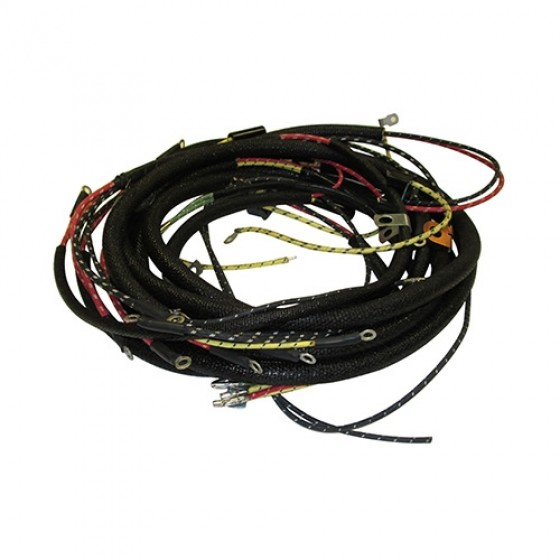 Awesome Complete Wiring Harness Made In The Usa Fits 50 52 M38 12 Volt Wiring 101 Ponolaxxcnl
