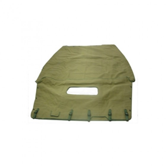 US Made Canvas Summer Top, Olive Drab, 41-64 MB, GPW,CJ-2A, 3A, 3B, M38, M38A1