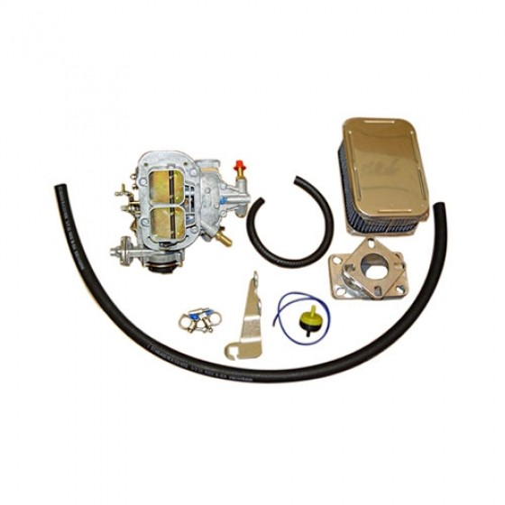 Performance Carburetor Conversion Kit for 1 Barrel, 76-78 CJ with 6 Cylinder 232 258