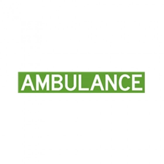 Ambulance Decal Fits 41-71 Jeep & Willys