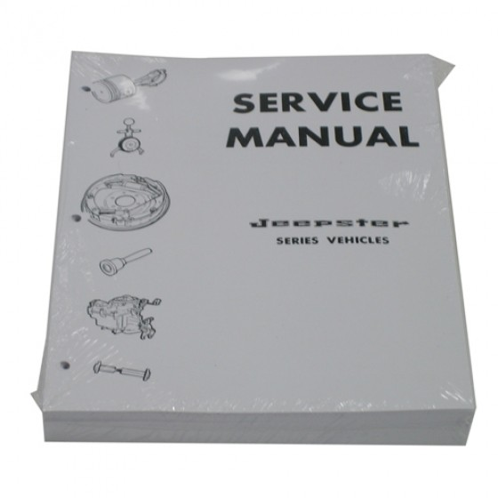 Mechanics (service) Manual Fits 66-73 Jeepster on