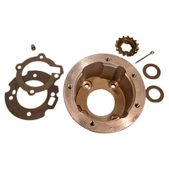 Transfer Case PTO & Overdrive Adapter Kit, 41-71 Jeep & Willys with Dana 18 transfer case