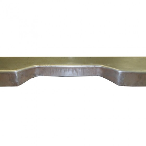 Steel Rear Floor Riser, 46-64 CJ-2A, 3A, 3B, M38