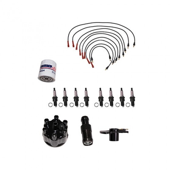 Tune-Up Kit for Prestolite Distributor, 76-77 CJ with V8