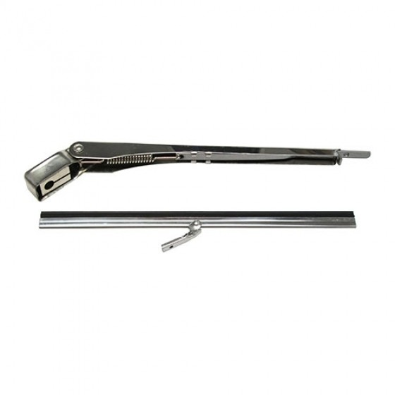 Electric Windshield Wiper Arm & Blade Kit, 41-68 Willys & Jeep