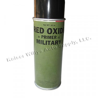 Red Oxid Primer Paint (Rattle Can) Fits 41-71 Jeep & Willys