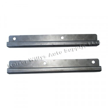 Lower Door Frame Rope Channel (pair) Fits 49-53 CJ-3A, M38