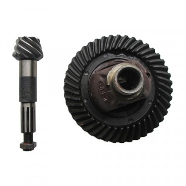 NOS Ring & Pinion with Differential Carrier Assembly Fits 46-71 Jeep & Willys with Dana 25 with 5.38 Ratio