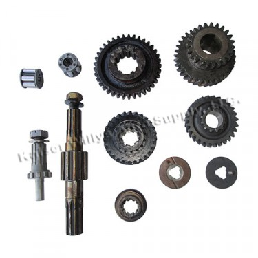"""NOS Transfer Case Master Gear Set (for 3/4"""" shaft)  Fits 41-46 MB, GPW, CJ-2A with D18 transfer case"""