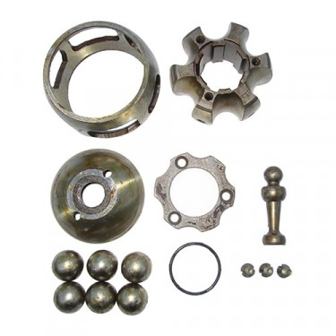 NOS Front Rzeppa Axle Shaft Kit (2 required) Fits 41-71 MB, GPW, CJ-2A, 3A, 3B, 5, M38, M38A1