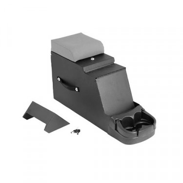 Stereo Security Console in Gray, 76-86 CJ