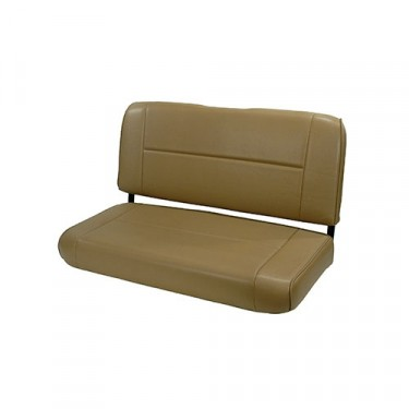 Standard Rear Seat in Nutmeg, 76-86 CJ