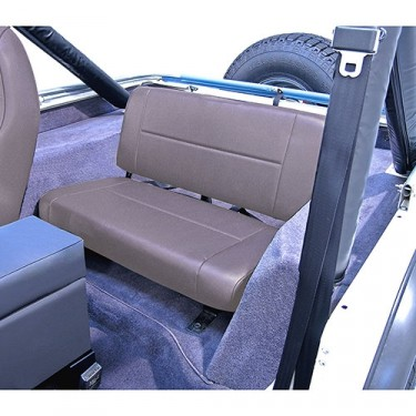 Standard Rear Seat in Gray, 76-86 CJ