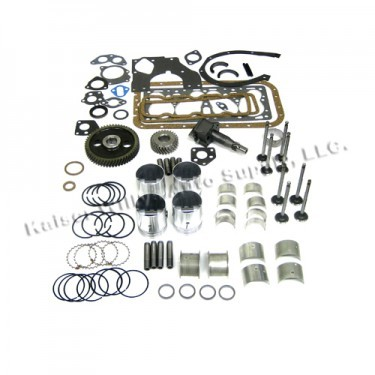 Complete Engine Overhaul Kit Fits  50-71 Jeep & Willys with 4-134 F engine