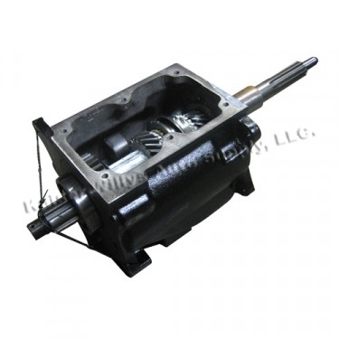 Complete Transmission Assembly (4-134 engine) Fits  46-71 Jeep & Willys with T-90 Transmission