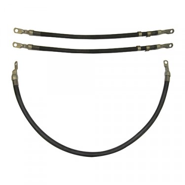 Battery Cable Set, 50-52 Willys M38