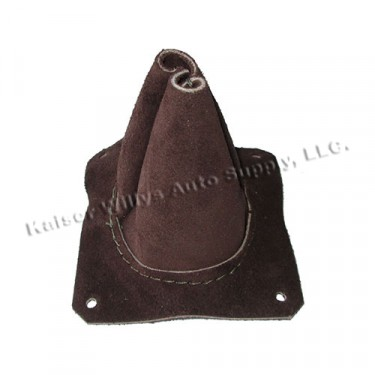 PTO & Overdrive Leather Shift Lever Boot (with nipple) Fits 41-71 Jeep & Willys