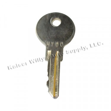 Ignition Switch Key, 41-45 MB, GPW