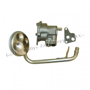 Oil Pump with Screen, 81-86 CJ with 6 Cylinder 258