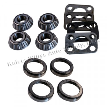 King Pin Bearing Kit for Both Sides, 41-71 Jeep & Willys with Dana 25/27