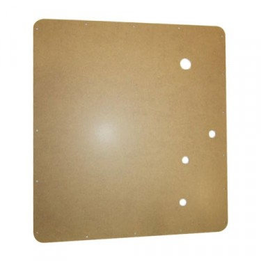Later Style Interior Door Panel (2 required), 54-64 Truck, Station Wagon