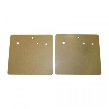 Later Style Interior Door Panel (Pair), 54-64 Truck, Station Wagon