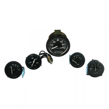 Speedometer Assembly and Gauge Kit, 46-64 CJ-2A, 3A, 3B